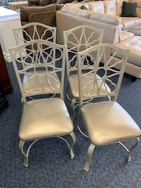 Set of 4 Silver Chairs Virginia Beach, 23462