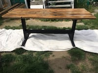 100year old reclaimed fir dinning table Vancouver, V5T 2H9