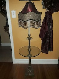 Antique floor lamp with table incorporated  Hialeah, 33012