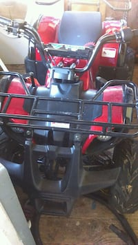black and red ATV quad bike Cartersville