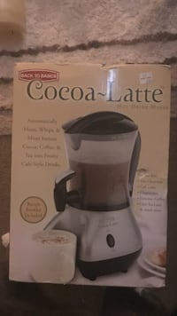 Cocoa-Latte hot drink maker box