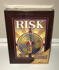 New Sealed Risk Game in Wood Box just $25  Port Saint Lucie, 34953