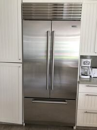 Subzero Stainless steel french door refrigerator West Vancouver, BC, Canada