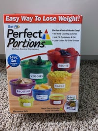 Perfect Portions containers