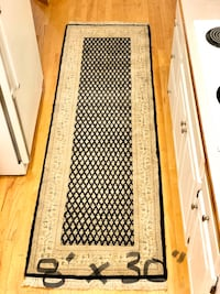 "WOOL RUG - 8'x30"" Handmade Bloomington, 55439"
