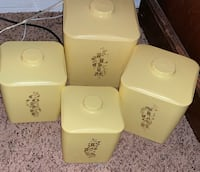 Vintage Set of Kitchen Canisters  Des Moines, 50313
