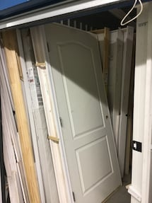 "36"" 2 PANEL FANCY ARCH PREHUNG DOORS"