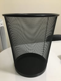 Thick metal waste bin (big size) Milton, L9T 7R2