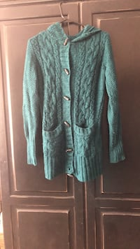 women's blue cardigan 1803 mi