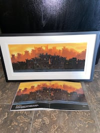 """""""The Block"""" Art Print Hand signed by artist Justin Bua"""