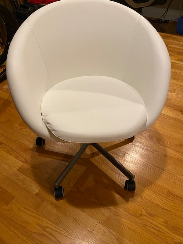 Ikea white swivel chair $100 OBO 0