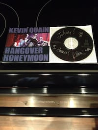 Kevin Quain hangover honeymoon CD Toronto, M4G