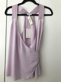 women's gray sleeveless top Surrey