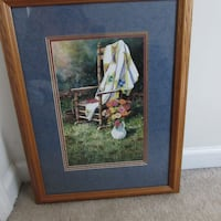 Beautiful Robert A Tino 'Warm Welcome' Framed Print with Cert. of Authenticity Piedmont