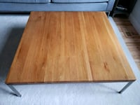 Solid wood coffee table eq3 Ottawa, K1N 5S6