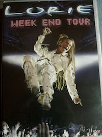 DVD concert lorie week end tour Noailles, 60430