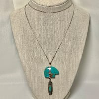 Sterling Silver & Turquoise Pendant with Sterling Chain Ashburn, 20147