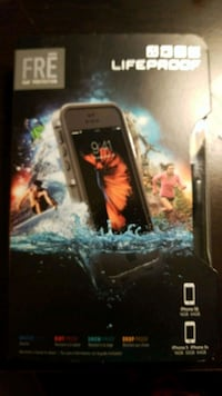 black Lifeproof Fre iPhone case box Raleigh