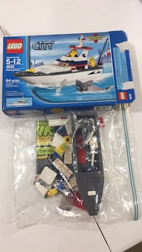 LEGO Fishing Boat (City) Burke, 22015