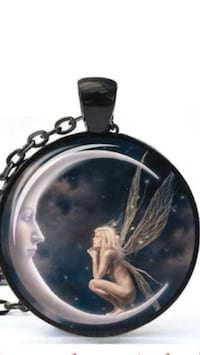Angel Pendant and Necklace Livonia, 48154