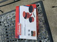New never used Coleman 6 piece cookware set.  1197 mi