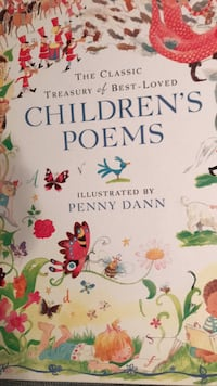 New Classic Treasury  of Best-Loved Children's Poems Columbia, 21045