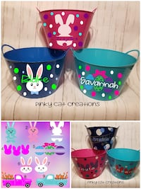 Personalized Easter Baskets  Shenandoah Junction