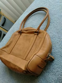 brown leather 2-way handbag Silver Spring, 20910