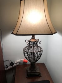 French style brass lamp & shade Owings Mills, 21117