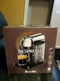 Nespresso brand new in the box Edmonton, T5S 2N4