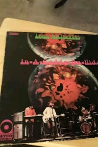 Iron Butterfly In-A-Gadda-Da-Vida vinyl album