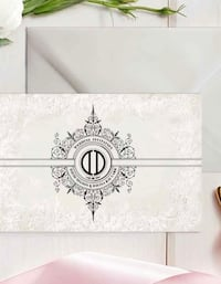Vintage wedding stationery Vaughan