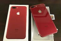 NUEVO-Apple iphone 7plus-Desbloqueado-128GB-rojo