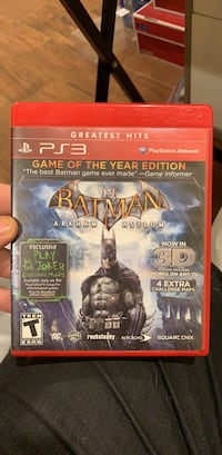 Batman: Arkham Asylum (PS3) Washington, 20016