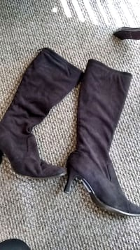 7 1/2 nine west brown boots. Worn twice Mobile, 36695