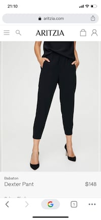 REDUCED Aritzia Babaton Dexter dress pant - XS