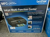 Brother MFC-J430w Inkjet wireless printer and scan New Hampton, 10958