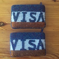 Beaded Visa Coin Purse Vaughan, L4H 2X3