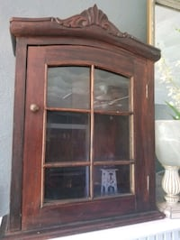 HARDWOOD ANTIQUE CURIO Suffolk, 23433