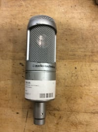 Audio technica AT3035 microphone . Used.