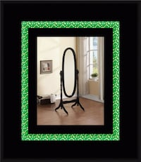 Blacks swivel oval mirror 48 km