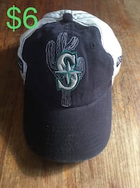 Spring training mariners ball cap hat size youth