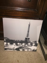 Eiffel Tower Canvas Mount Pleasant, 29464