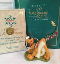 1996 Holiday Annual Figure Pluto's Christmas Tree Figurine New WDCC Lowellville, 44436