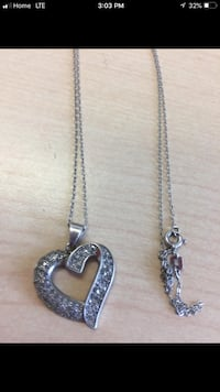 Solid 925 heart necklace  Innisfil, L9S 4R2