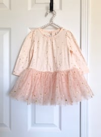 Babygap star tutu dress size 6-12 months- worn once for pictures Mississauga, L5M 0C5