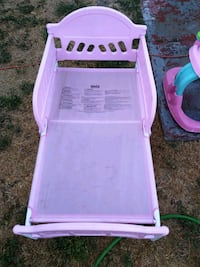 Pink toddler bed West Valley City, 84128