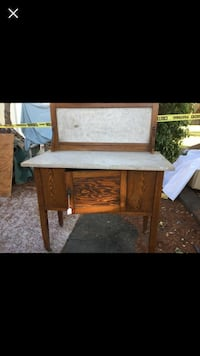 Beautiful antique buffet or side table.  Napa