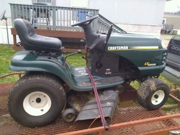 Used Craftsman Lt1000 for sale in Knoxville - letgo