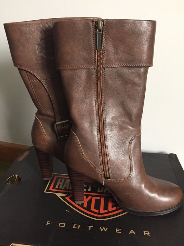 Ladies Harley Davidson Boots Size 6 c8a61c92-401c-4362-856b-ccd08df104a4